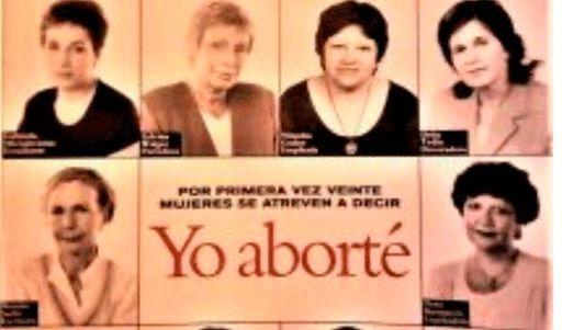 1997 Por primera vez veinte mujeres se atreven a decir Yo aborté