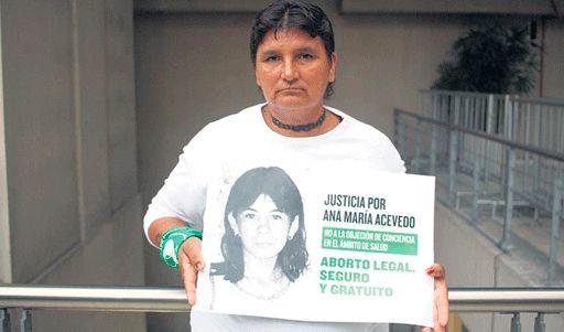 2007 El 17 de mayo muere Ana María Acevedo
