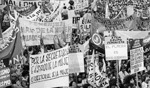 8 de Marzo de 1984 - Fuente foto: Archivo Brenno Quaretti-Mónica Hasenberg