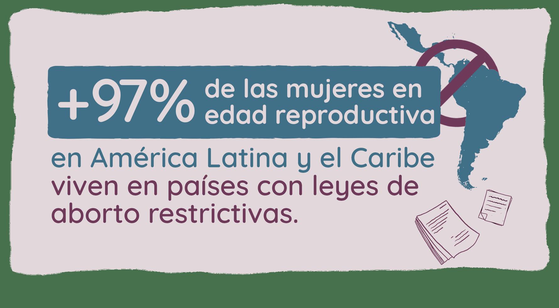 Estadísticas sobre legislación sobre aborto en América Latina y Caribe