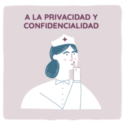 Derecho a la privacidad y confidencialidad